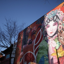 Sur les murs de Montréal
