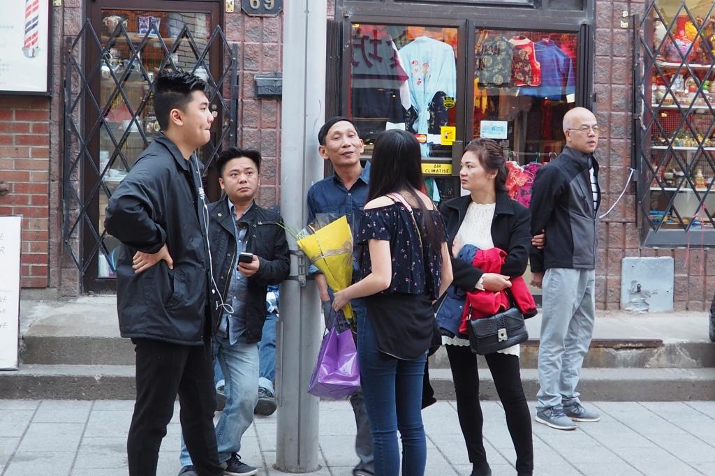 Dans le tout petit Chinatown montréalais